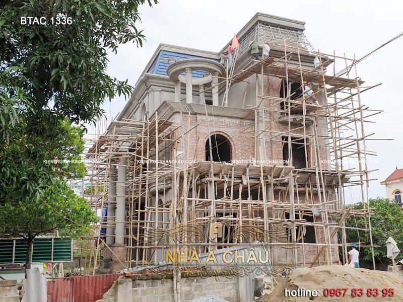 thiết kế biệt thự tân cổ điển tại Nghệ An