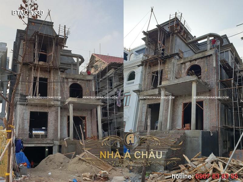thiết kế thi công biệt thự tại Quảng Ninh
