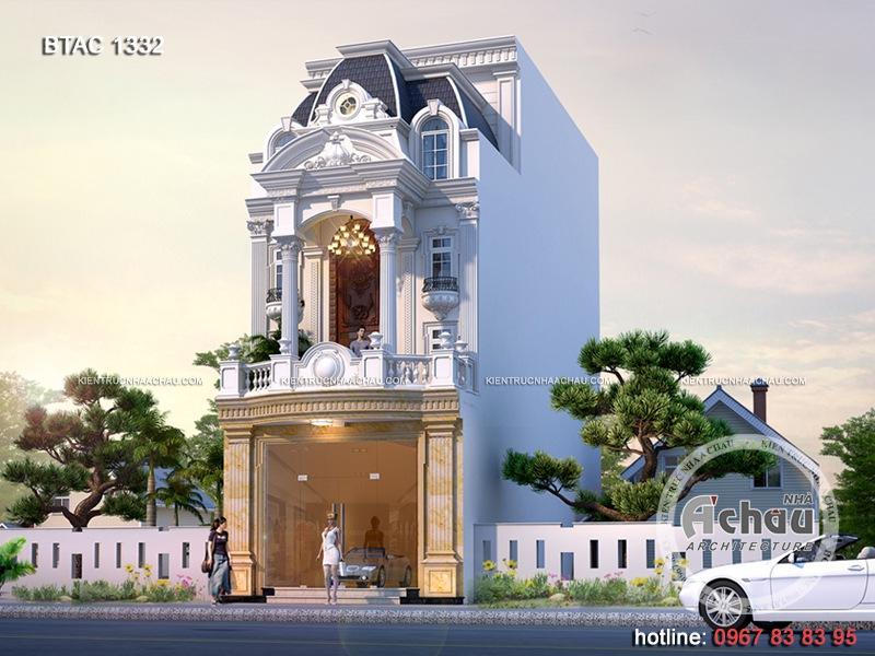 Mẫu thiết kế biệt thự tại Nam Định – Hứa hẹn sẽ làm mưa làm gió trên thị trường