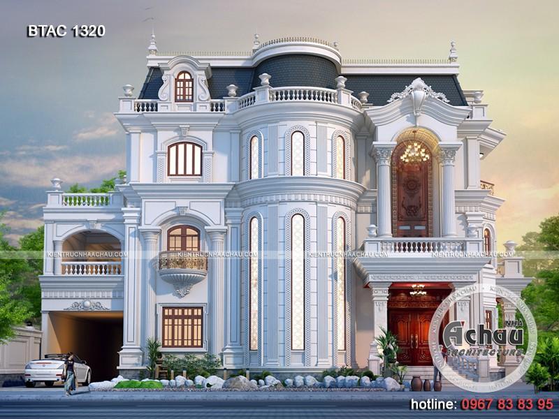 thiết kế biệt thự tại Đồng Nai đẹp