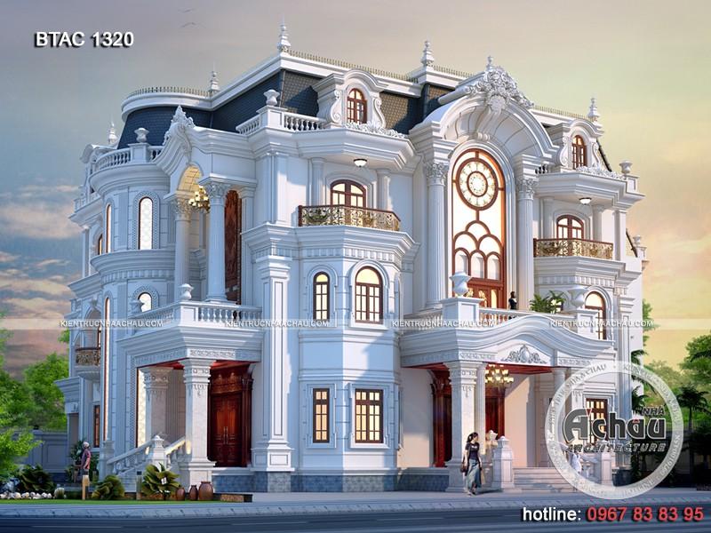 thiết kế biệt thự tại Đồng Nai sang trọng