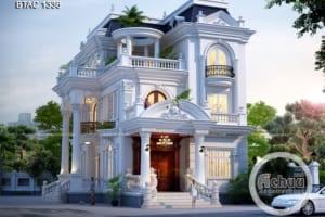 Mẫu thiết kế biệt thự tại Nghệ An - Bao người yêu thích