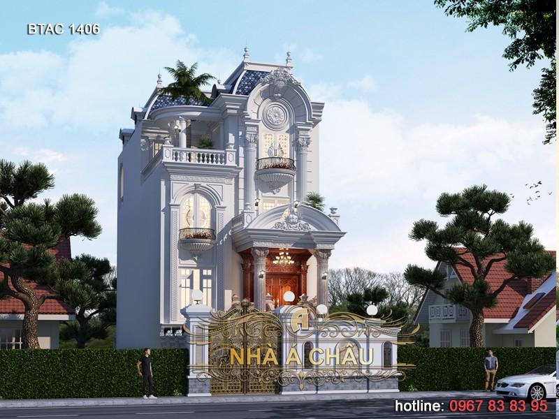 thiết kế biệt thự tại Ninh Bình - 1406