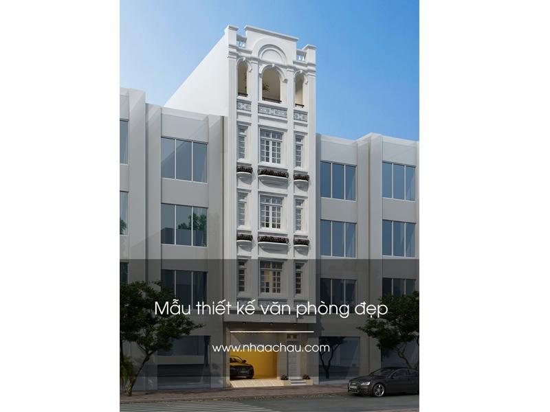 Giá trị thương hiệu được khẳng định qua thiết kế mẫu văn phòng đẹp.