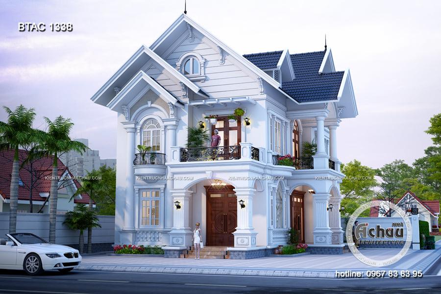 Top 10 mẫu biệt thự 2 tầng cơ bản của công ty thiết kế xây dựng Á Châu