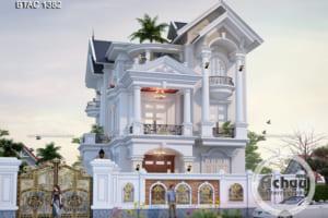 Các mẫu nhà biệt thự 3 tầng đẹp - Thiết kế nhà đẹp Á Châu