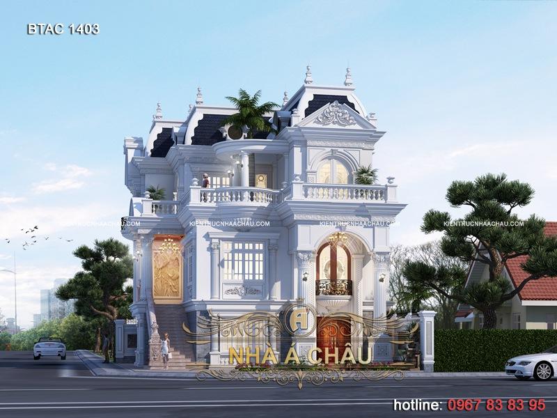 thiết kế biệt thự đẹp 2020 - 1403