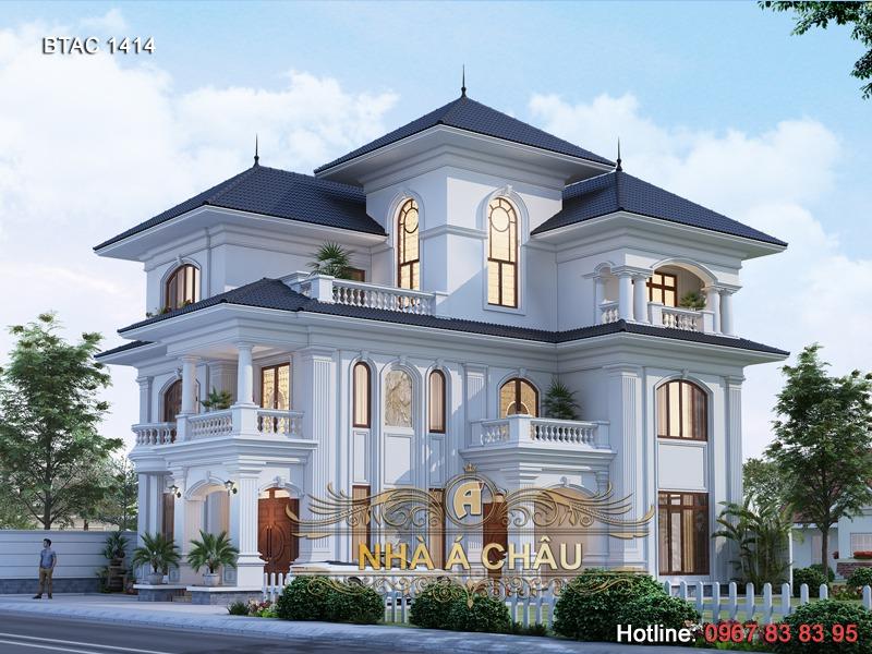 biệt thự 3 tầng - 1414