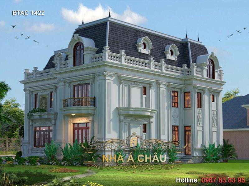 thiết kế biệt thự tại hà nội, thiết kế biệt thự đẹp tại hà nội