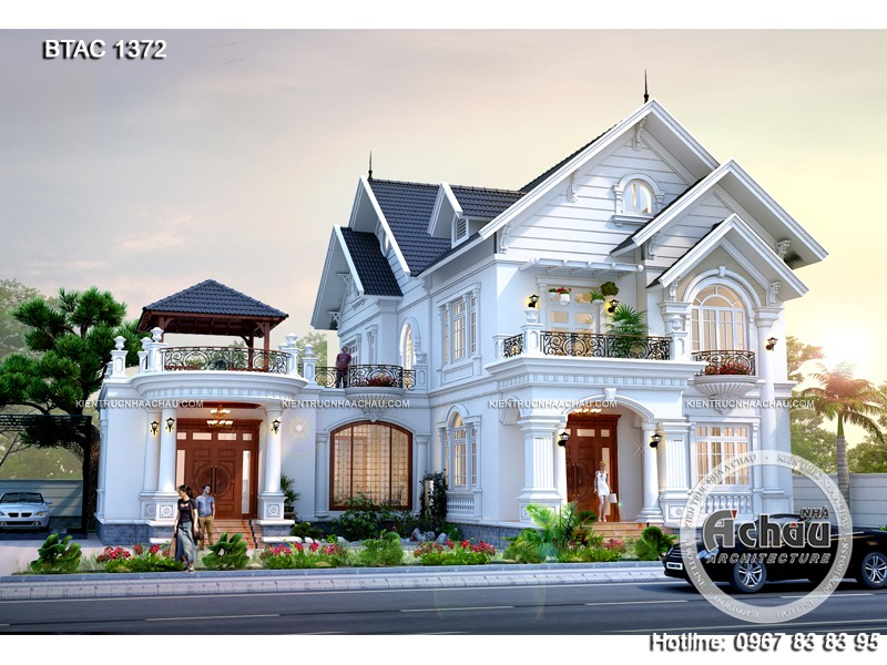 mẫu thiết kế nhà biệt thự đẹp