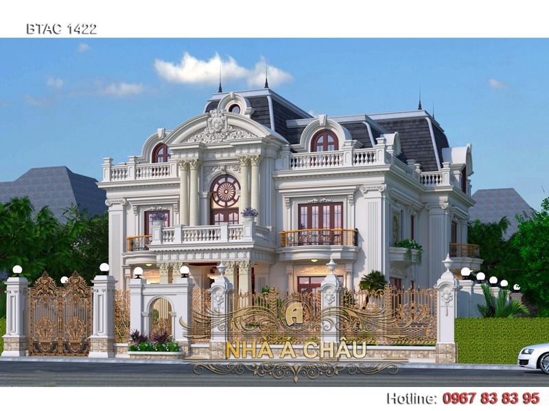 thiết kế biệt thự hà nội đẹp, thiết kế biệt thự tại hà nội, thiết kế biệt thự đẹp tại hà nội