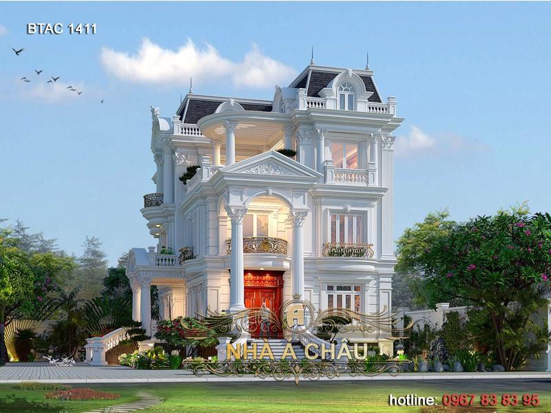 biệt thự tân cổ điển đẹp 1411
