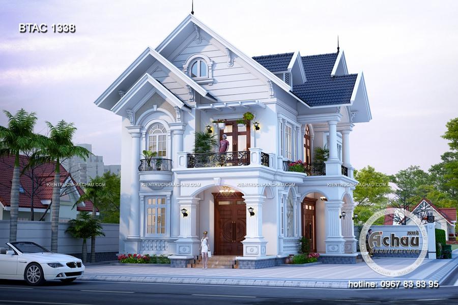 ảnh mẫu biệt thự đẹp 2 tầng 1338