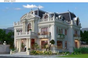 101 Mẫu biệt thự mái Mansard kiến trúc Pháp đẹp mê hồn (P1)