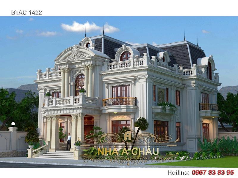 biệt thự hà nội tân cổ điển 3 tầng 2020 đẹp nhất