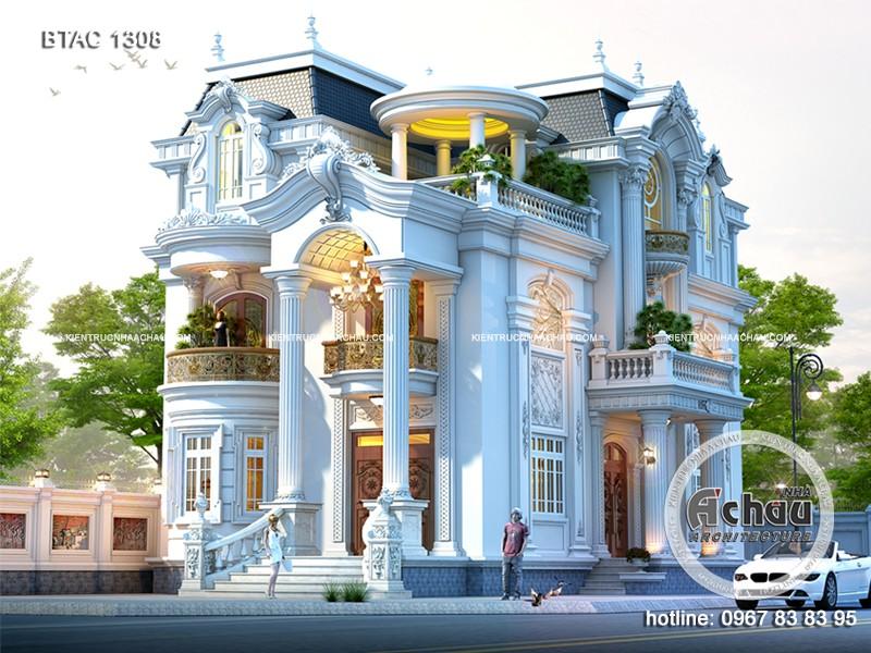mẫu thiết kế biệt thự đẹp 1308