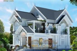Say đắm với mẫu biệt thự 2 tầng đẹp nhất tại Vũng Tàu - BTAC 1425