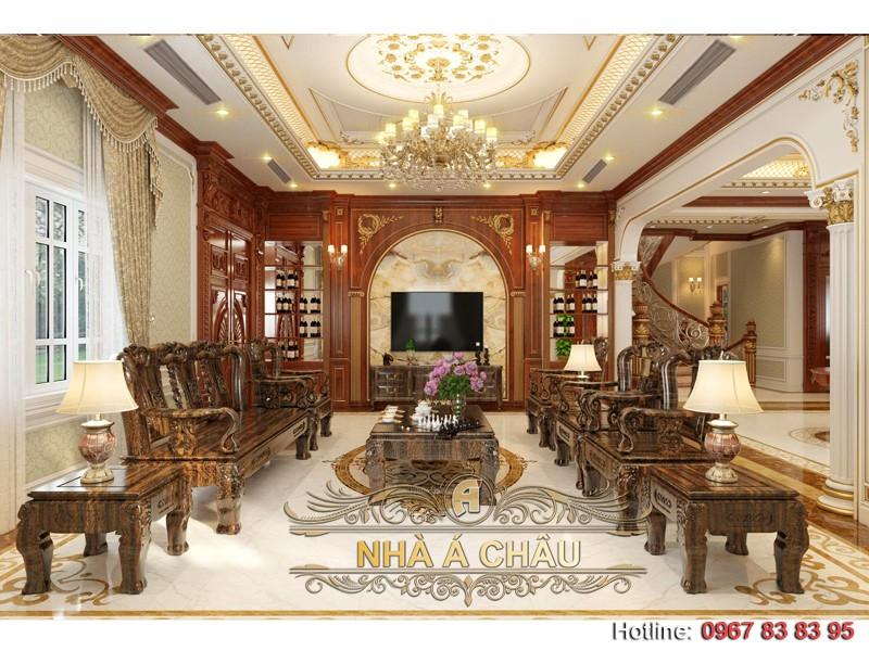Phong cách thiết kế nội thất biệt thự sang trọng và đẳng cấp