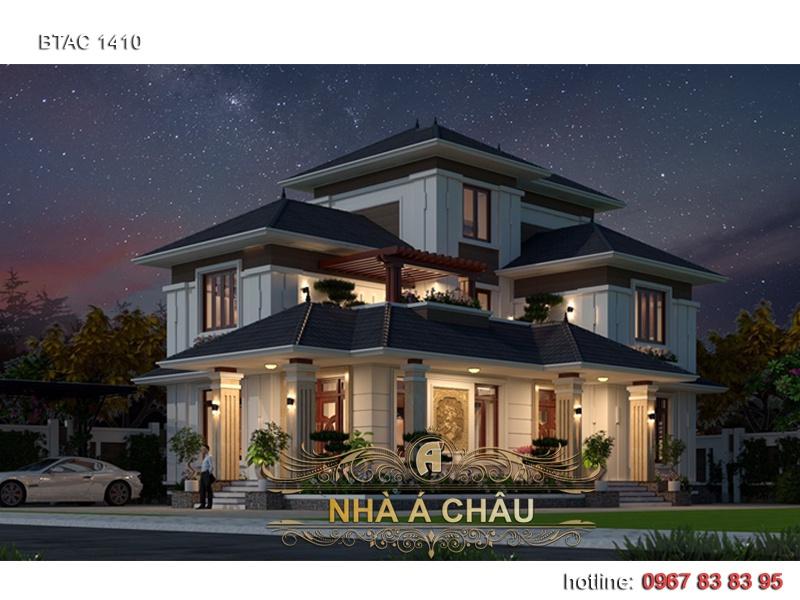 thiết kế nhà đẹp 2 tầng 2020