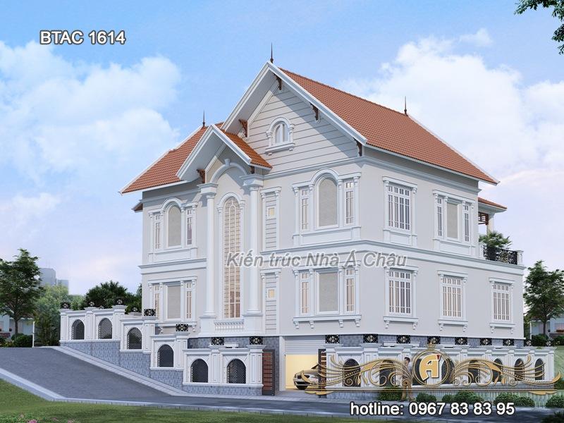biệt thự 2 tầng đẹp 1614