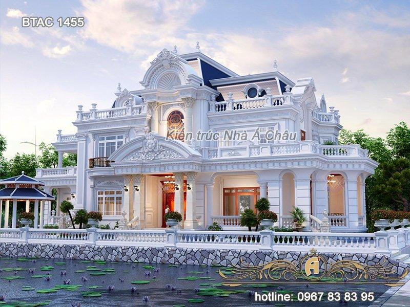 Mẫu nhà mới 2020 – Siêu phẩm hoàn hảo dành cho mọi gia đình – BTAC 1455