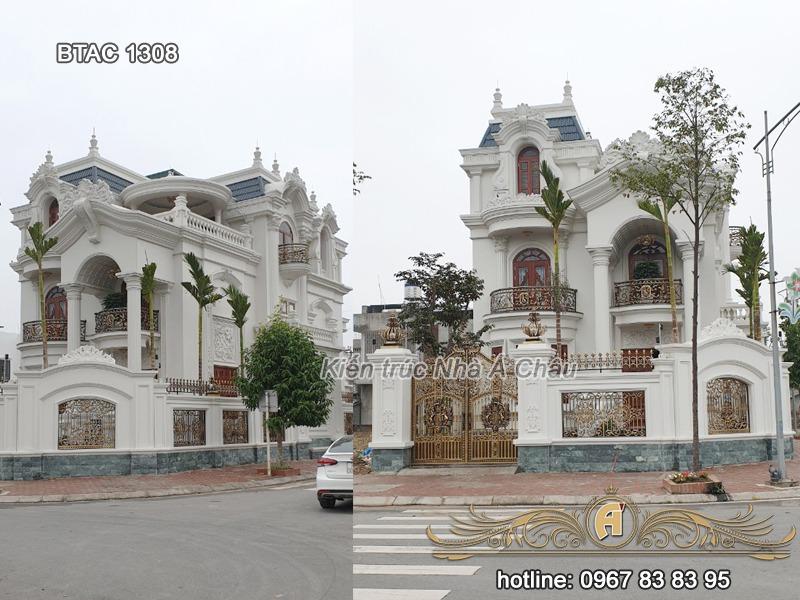 biệt thự tân cổ điển 3 tầng đã hoàn thiện