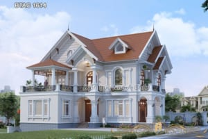 mẫu nhà 2 tầng đẹp 2020 1614