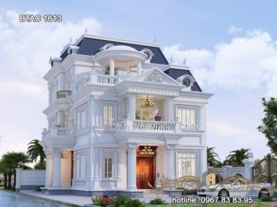 Giới thiệu thiết kế mẫu nhà 3 tầng 2020 sang trọng, đẳng cấp - BTAC 1613