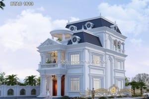 mẫu thiết kế nhà 3 tầng đẹp 1613