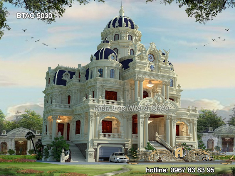 Mẫu thiết kế lâu đài - Dinh thự đẹp nhất 2020