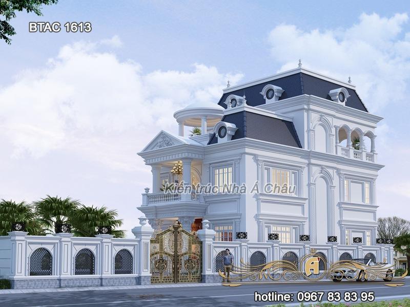 mẫu thiết kế nhà biệt thự 3 tầng đẹp 1613