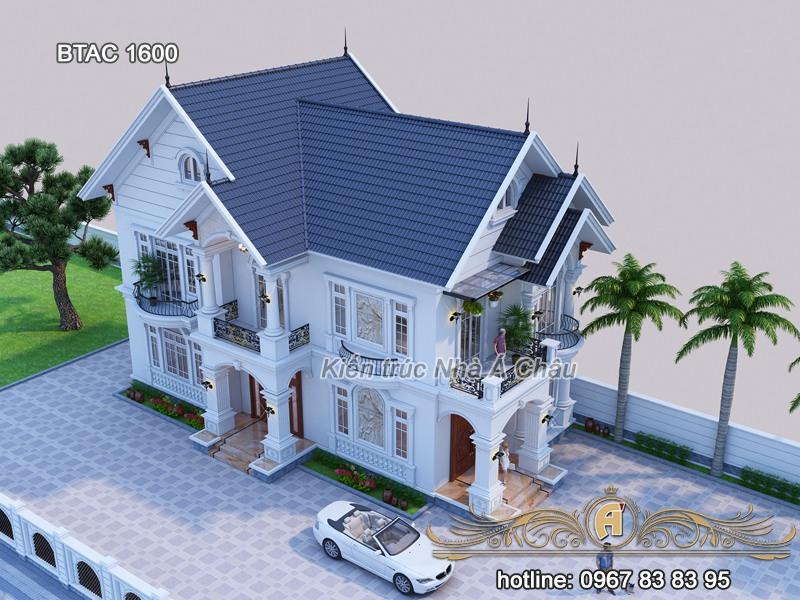 biệt thự đẹp thiết kế tại Tây Ninh
