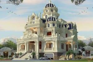 Thiết kế lâu đài kiểu Pháp - Minh chứng thiên đường giữa đời thực - BTAC 5031