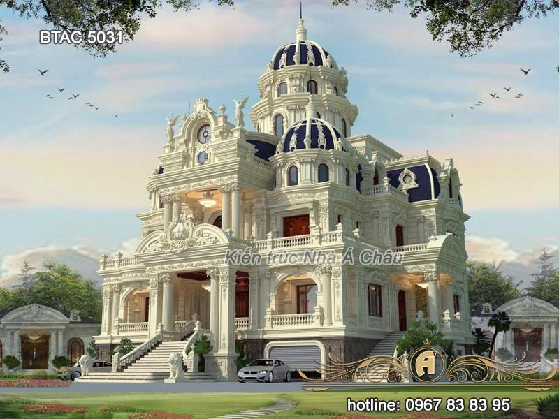 Thiết kế lâu đài kiểu Pháp – Minh chứng thiên đường giữa đời thực – BTAC 5031