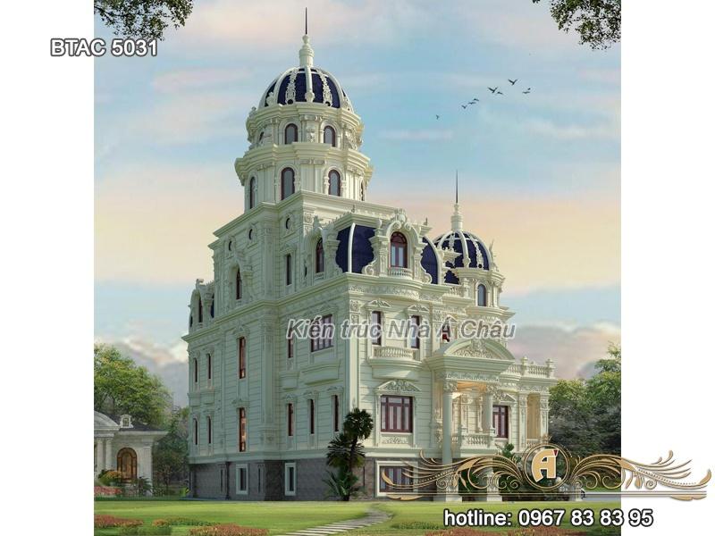 thiết kế biệt thự lâu đài 5031