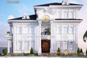 Biệt thự trắng tân cổ điển 1619