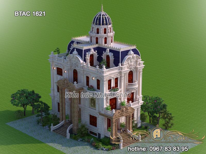 mẫu thiết kế lâu đài đẹp nhất hiện nay