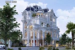 Khám phá Biệt thự tân cổ điển 4 tầng tuyệt đẹp - BTAC 1620