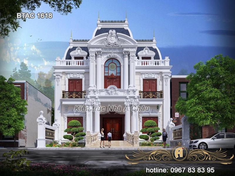 công ty thiết kế biệt thự Hưng Yên đẹp uy tín