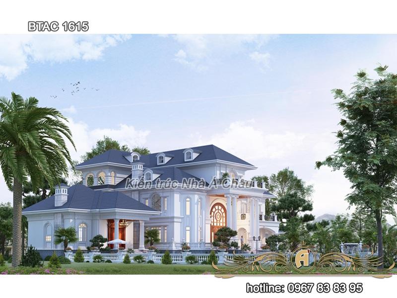 thiết kế nhà biệt thự vườn 2020