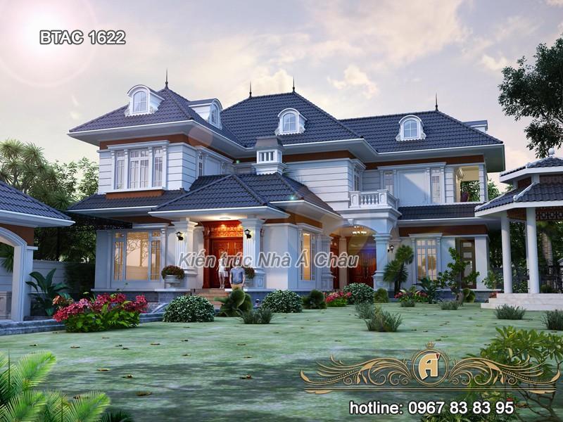 mẫu thiết kế biệt thự đẹp Bắc Giang 2020