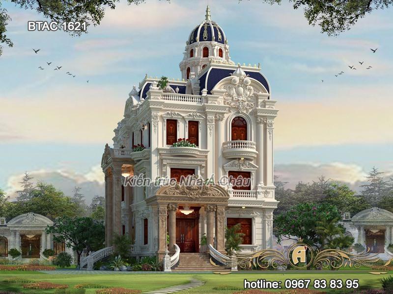 mẫu thiết kế biệt thự lâu đài đẹp 2020 mới nhất