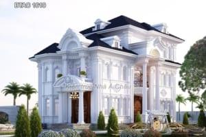 Mãn nhãn với thiết kế biệt thự Ninh Bình - BTAC 1619