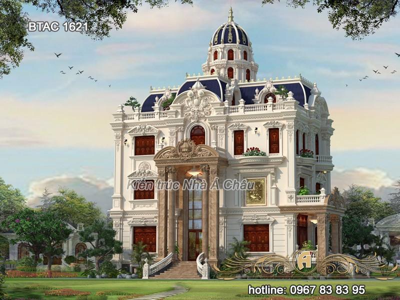 thiết kế lâu đài đẹp mới 2020