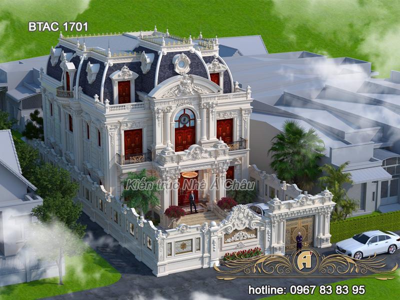 Mẫu biệt thự BTAC 1701