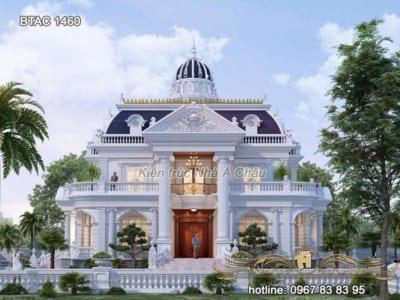 Mẫu thiết kế kiến trúc biệt thự triệu người mê BTAC 1460 - hot nhất 2021