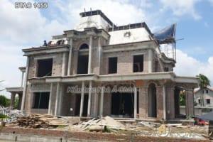 Hoàn thiện xây nhà trọn gói biệt thự BTAC 1455