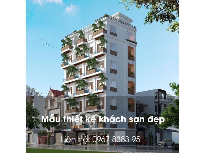 thiết kế Khách sạn xanh