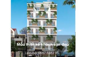 Mẫu thiết kế khách sạn xanh tại Vĩnh phúc - Kiến trúc độc - lạ - sang trọng