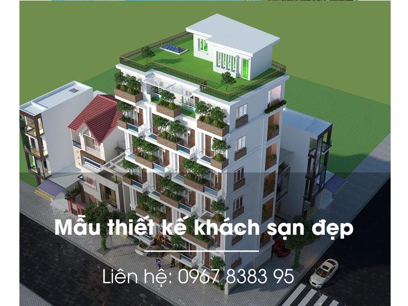 Khách sạn xanh sang trọng